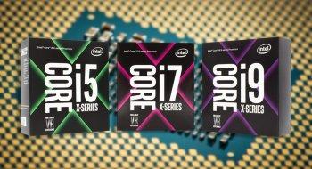 Intel lanserer tre nye i9-prosessorer