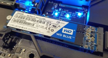 Test: Western Digital WD Blue SSD 250GB M.2