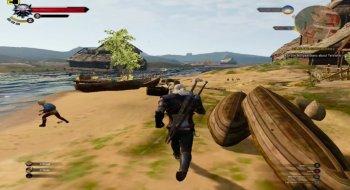 Slik ser The Witcher 3 ut om du fjerner alt av grafikkeffekter