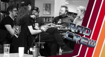 Podkast: Slik gikk det da Rad Crew spilte inn en live-episode i Sandnes bibliotek