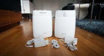 Test: Netgear Orbi AC3000 tri-band WiFi ruter (RBR50)