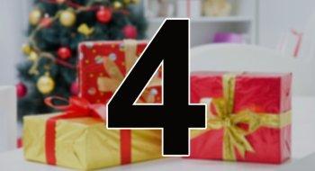 Konkurranse: Vi har åpnet luke nummer fire i julekalenderen