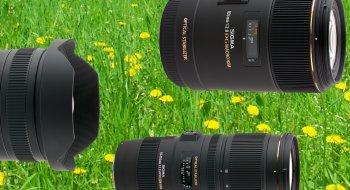 Sigma-optikk for speilløse systemkameraer