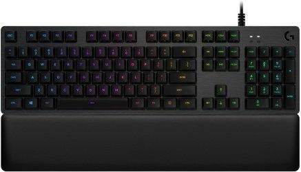 Logitech G513 Carbon RGB Gaming Tastatur kablet, nordisk, GX