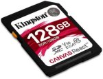 Kingston Canvas React 128GB SDXC