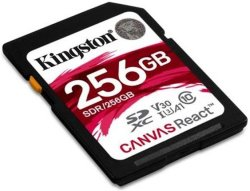 Kingston Canvas React 256GB SDXC