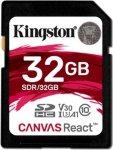 Kingston Canvas React 32GB SDXC