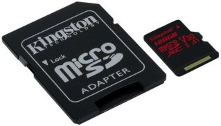 Kingston Canvas React 128GB microSDXC