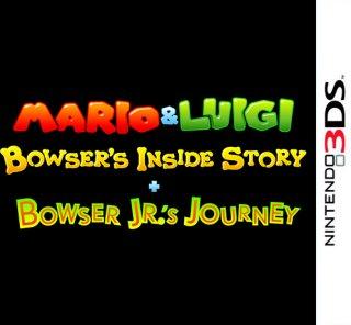 Mario & Luigi: Bowser's Inside Story + Bowser Jr.'s Journey til 3DS
