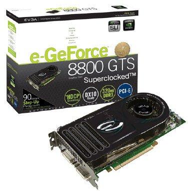 EVGA GeForce 8800 GTS KO ACS3 320 MB