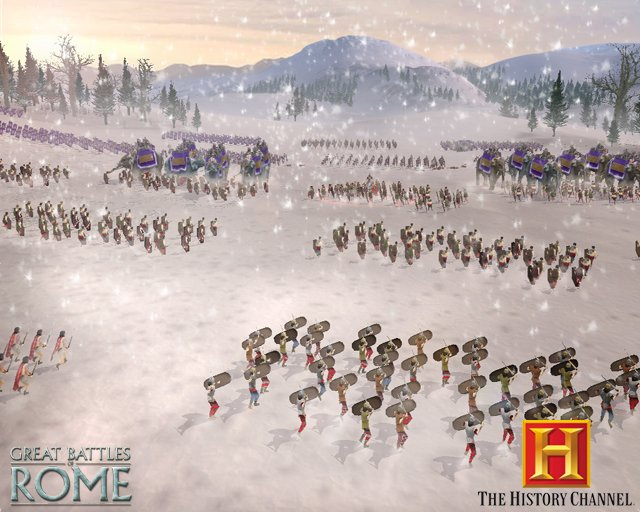 The History Channel: Great Battles of Rome til PC