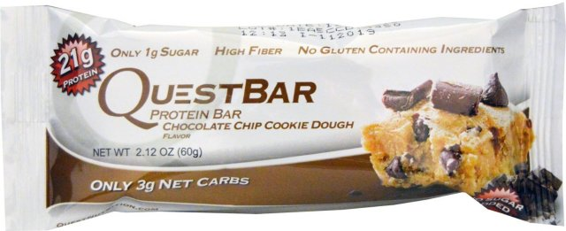 Quest Nutrition QuestBar Chocolate Chip Cookie Dough 60 g