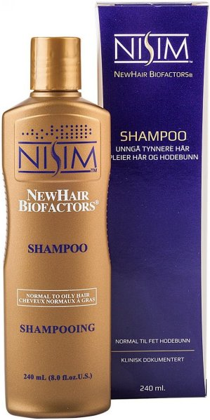 Nisim NewHair Biofactors Oily Hair Shampoo 240ml