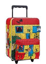 Pippi Villa Villekulla koffert til barn