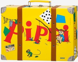 Pippi Langstrømpe koffert til barn