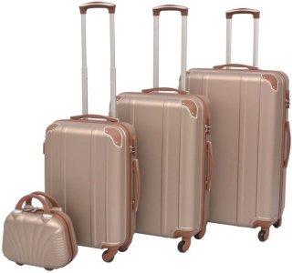 VidaXL koffertsett 4 deler