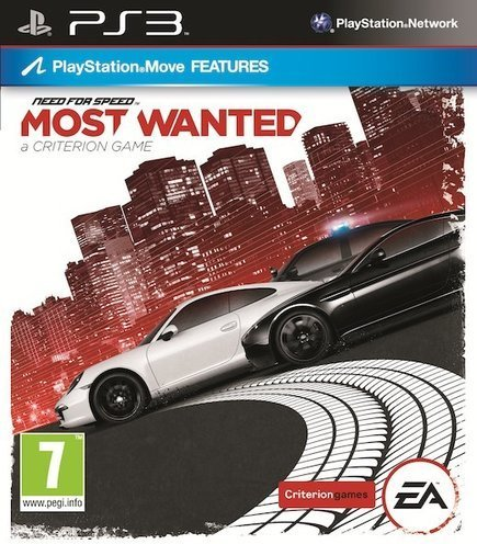 Need For Speed: Most Wanted til PlayStation 3
