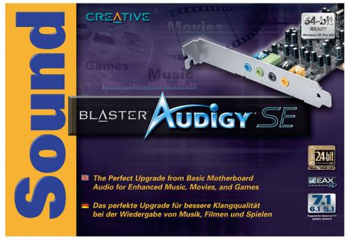 Creative Sound Blaster Audigy SE