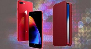 Apple lanserer iPhone 8 i rødt