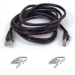 Belkin RJ45 CAT-5e Patch Cable 10m Sort