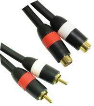 MicroConnect 2xRCA - 2xRCA 10m M-F