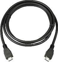 MicroConnect HDMI 19 - 19 1m M-M