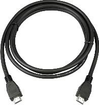 MicroConnect HDMI 19 - 19 5m M-M