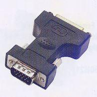 MicroConnect Adapter DVI-I 24+5 - HD15 F-M