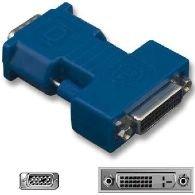 MicroConnect Adapter DVI-I 24+5 - HD15 F-F