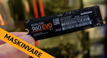 Test: Samsung 960 Evo 250GB