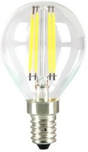 4W LED pære E14 Karbon