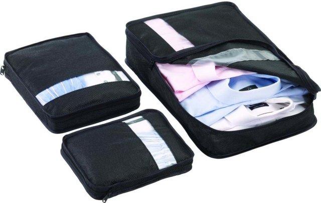 Go Travel pakkeposer (sett)
