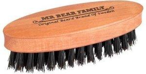 Mr Bear Family skjeggbørste i reisestørrelse