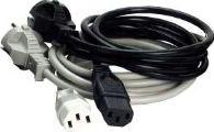 MicroConnect Power Cord 3m Black IEC320