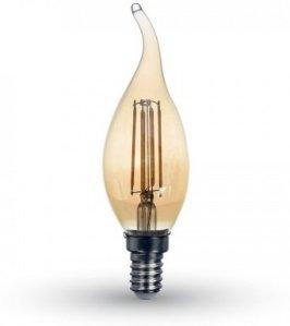 V-Tac 4W LED stearinlys pære TAC##7114