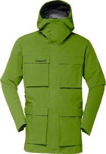 Se TILBUD på Norrøna Svalbard Gore Tex jakke herre Green