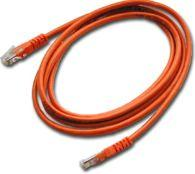 MicroConnect Cable SSTP 1M CAT6 Orange LSZH