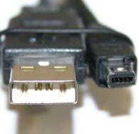 MicroConnect USB A - Mini USB 4P 1.8m M-M