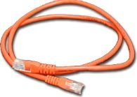 MicroConnect CAT6 UTP Cable 1M Red LSZH