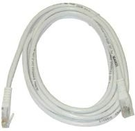 MicroConnect CAT6 UTP Cable 3M White LSZH