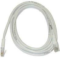 MicroConnect CAT6 UTP Cable 3M White LSZH