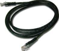 MicroConnect CAT6 UTP Cable 25M Black LSZH