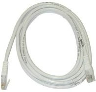 MicroConnect CAT6 UTP Cable 25m White LSZH