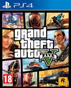 Grand Theft Auto V til Playstation 4