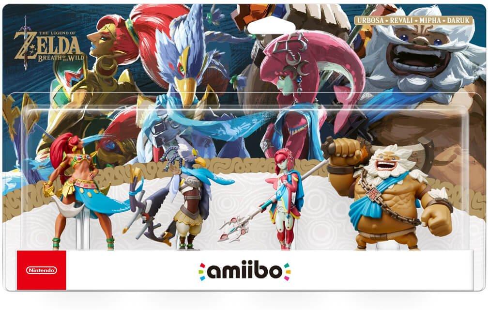 Nintendo Amiibo Champions Pack : Breath of The Wild