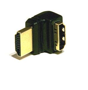 HDMI vinkel adapter 90° (Flere varianter)