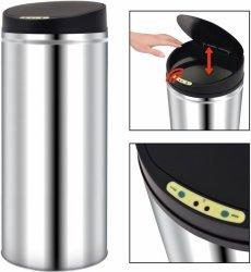 VidaXL Søppelbøtte med sensor (62L)