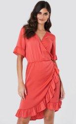 Saint Tropez Ruffle Wrap Dress