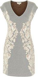 Cream Blume kjole