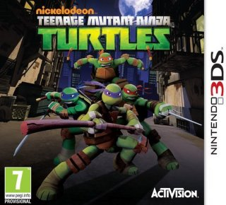 Teenage Mutant Ninja Turtles til 3DS